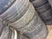 TYRE SHOP 215/60/16c 215/60/16 car & van tyres used summer tires