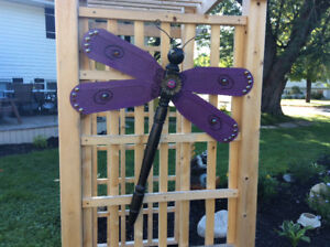 WOODEN DRAGONFLY .....NEW