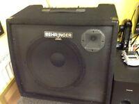 Behringer Ultratone K3000FX 300 watt PA / Keyboard Amplifier