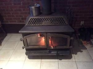 Wood stove fireplace metal