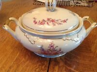 Antique Dishes with Covers