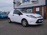 2010 10 FORD FIESTA 1.4 TDCI VAN 70BHP 1 COUNCIL OWNER, JUST SERVICED, CHOICE OF