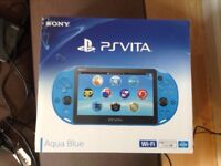 Sony psvita and 3 games