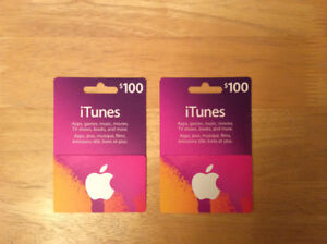 Santa brought me too many $100 iTunes Cards at Christmas!