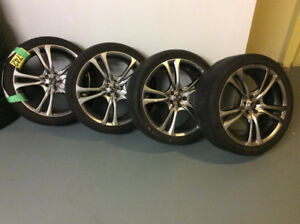 "AFTERMARKET ALLOY RIMS ACE 18"" - LOOK NICE"