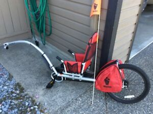 New WeeHoo iGO bike trailer for child