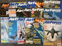 18 copies of Air Forces Monthly Magazines excellent condition