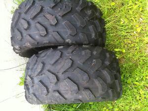 Four wheeler tires