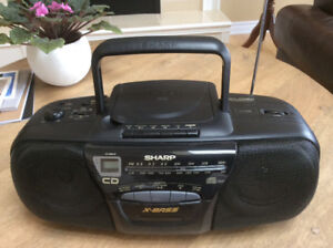 Sharp Brand Boom Box