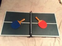 John Lewis mini table tennis