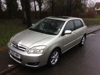 2005 Toyota Corolla 1.6 TSpirit-51,000-12 months mot-2 owners-service history-great value