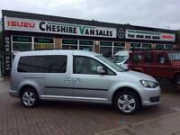 2012 12 VOLKSWAGEN CADDY MAXI 1.6 C20 LIFE TDI BLUEMOTION TECHNOLOGY 7 SEATS