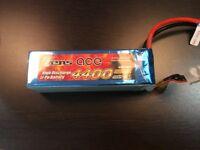 Gensace 4400 mah 45c 6s Lipo battery.