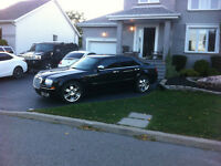 2005 Chrysler 300-Series Black Sedan