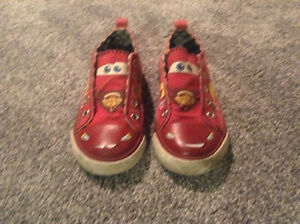 Lightning McQueen Size 9 Shoes
