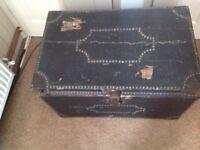 Old storage chest