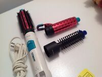 BLOW BRUSH/CURLING IRON COMBO
