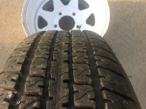 Trailer Tire / Wheel Windsor Region Ontario image 2