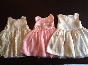 Baby girls 12-18month dresses