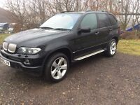 BMW X5 2006 MODEL 4.4 4x4 GREAT SPEC EVERY EXTRA AUTOMATIC SAT NAV SKY TV DONT MISS OUT FACE LIFT