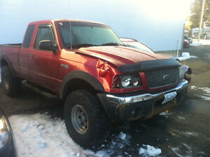 02 Ranger for parts, also mud tires