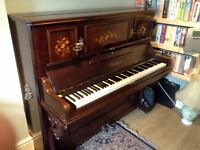 Upright Bluthner Piano