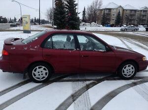 2000 Toyota Corolla LE 4Cyl 1.8L 156K 4DR AUTOM. Sedan