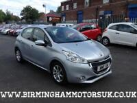 2012 (12 Reg) Peugeot 208 1.4 HDI ACTIVE 5DR Hatchback SILVER + FREE TAX