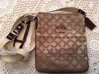 Authentic Coach body crossover purse