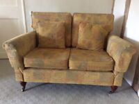 Sofa, chairs and foot stool