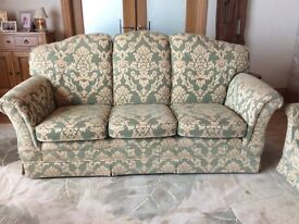 Parker Knoll 3 seater sofa with 2 armchairs