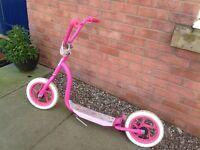 Large princess scooter