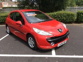 2007 Peugeot 207 1.4 S-44,000-May 2017 mot-2 owners-great value