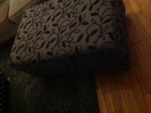 Beautiful ottoman with storage 120