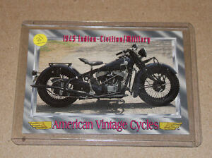 AMERICAN VINTAGE CYCLES SERIES 1 CARD