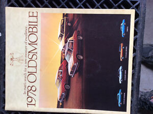 Oldsmobile sales brochure