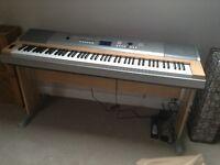 Yamaha portable grand keyboard DGX 620