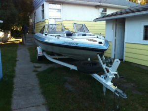 Invader openbow 18' 6'' c/w 2007 150 HP etec