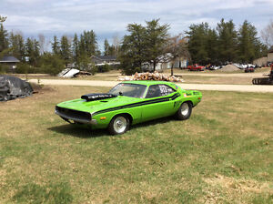 1972 Dodge Challenger Race car roller