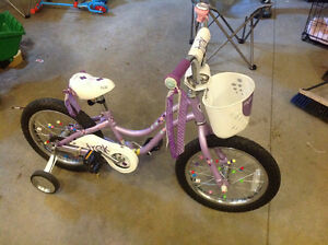 Girl's 16 inch Trek bike
