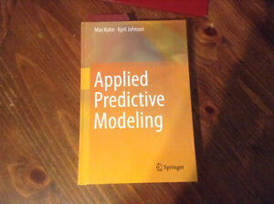 APPLIED PREDICTIVE MODELING - KUHN / JOHNSON (SPRINGER TEXT)