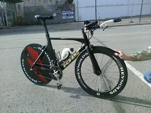 Carbon Fiber Triathlon Bike 56''