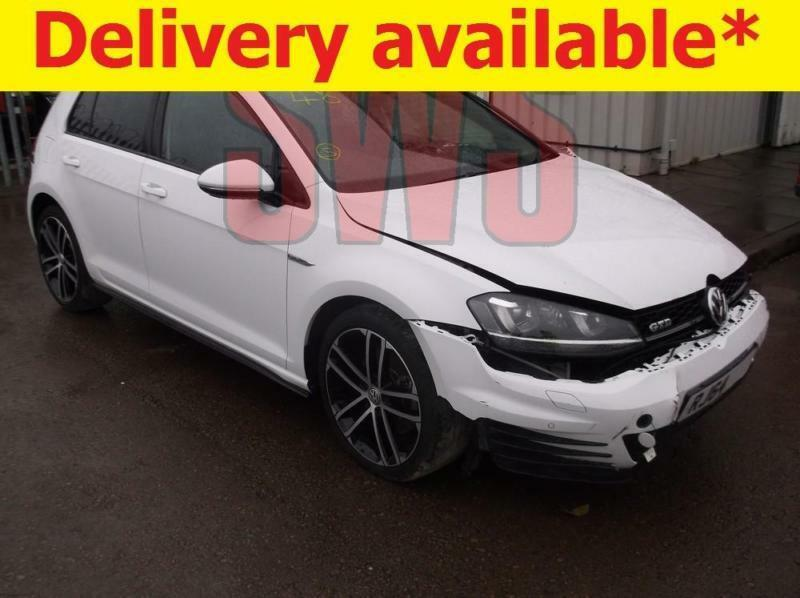 2015 Volkswagen Golf GTD 2.0 DAMAGED REPAIRABLE SALVAGE