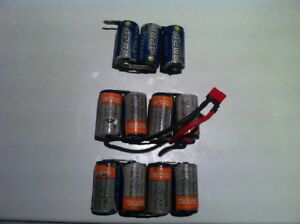 rc 1/10th NIMH battery cell lot for sale