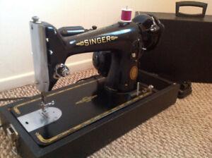 Classic  201K  Singer sewing machine