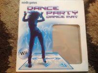 Wii Dance party Mat still in box