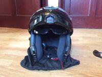 Nitro flip front motorcycle helmet