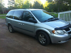 2003 Dodge Caravan Minivan, Wheelchair Accessible