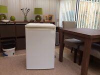 Under counter refridgerator in white