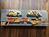 Motorised train set CAT Caterpillar
